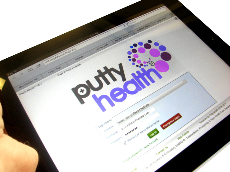 iPad with PuttyHealth
